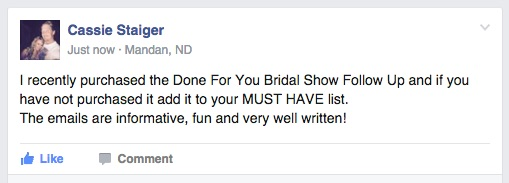 Travel Agent Bridal Show Marketing